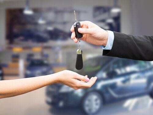 Aflevering af bilnøgle